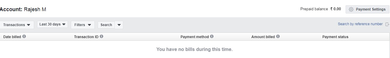 Adding Money in Facebook Ads Manager